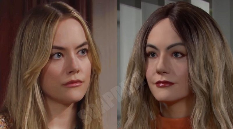 Bold and the Beautiful Spoilers: Hope Logan (Annika Noelle) - Mannequin