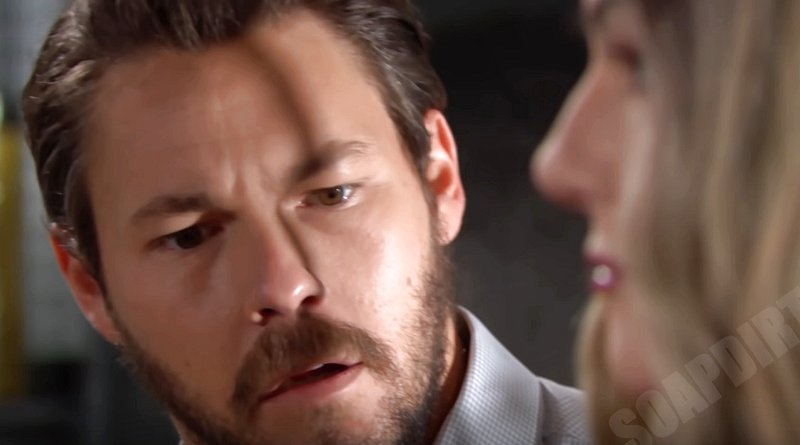 Bold and the Beautiful Spoilers: Liam Spencer (Scott Clifton) - Hope mannequin