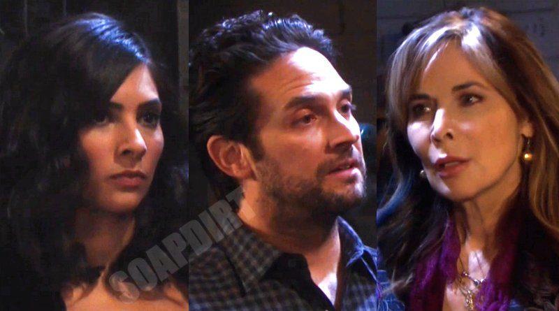 Days of our Lives Spoilers: Gabi Hernandez (Camila Banus) - Jake Lambert (Brandon Barash) - Kate Roberts (Lauren Koslow)