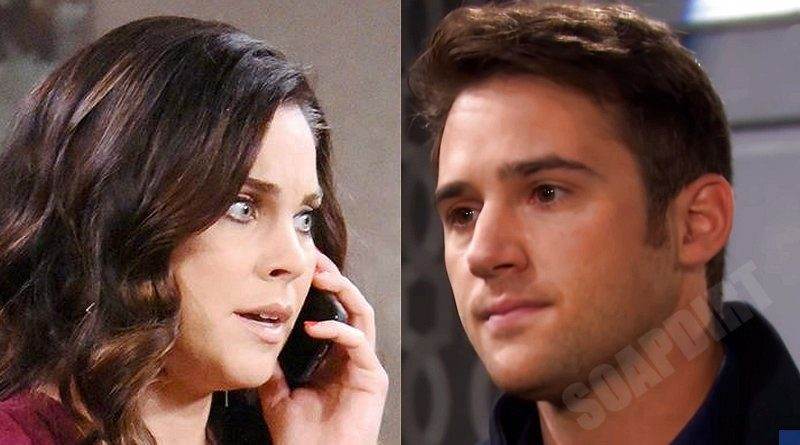Days of Our Lives Comings & Goings: Chloe Lane (Nadia Bjorlin) - JJ Deveraux (Casey Moss)