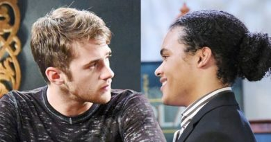 Days of Our Lives Comings Goings: Theo Carver (Cameron Johnson) - JJ Deveraux (Casey Moss)