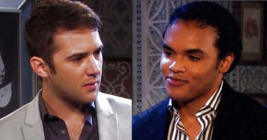Days of Our Lives: Theo Carver (Cameron Johnson) - JJ Deveraux (Casey Moss)