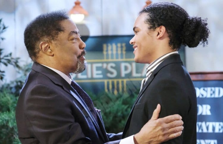 Days of Our Lives Spoilers: Abe Carver (James Reynolds) - Theo Carver (Cameron Johnson)