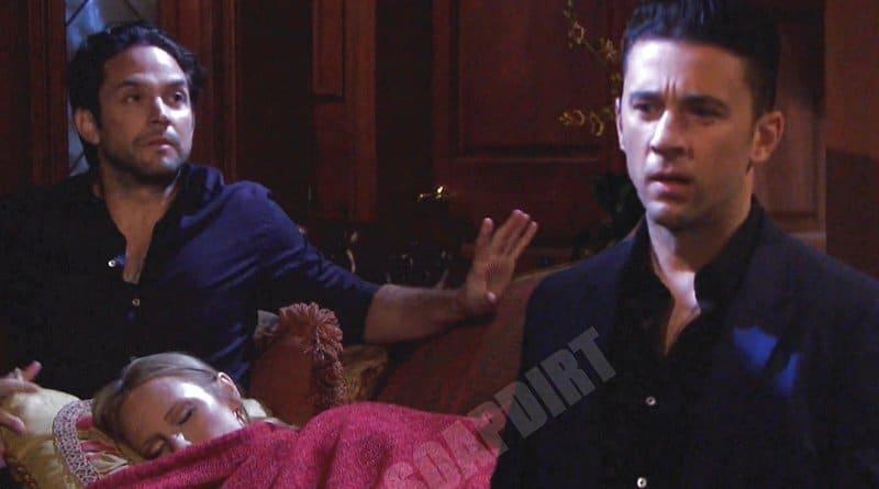 Days of our Lives Spoilers: Abigail Deveraux (Marci Miller) - Chad DiMera (Billy Flynn) - Jake Lambert (Brandon Barash)