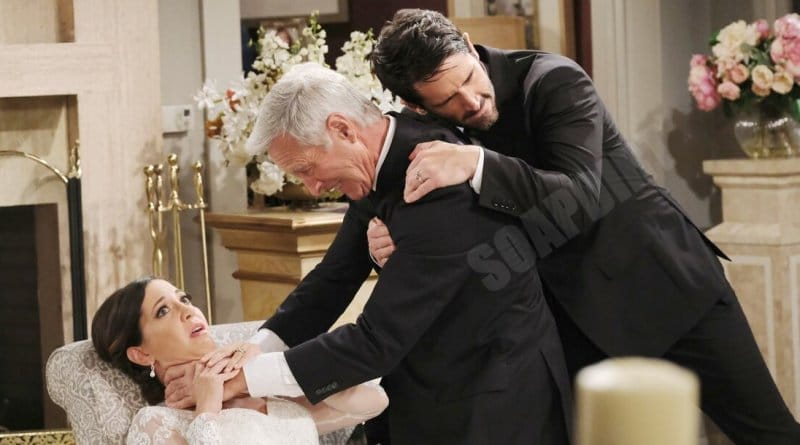 Days of our Lives Spoilers: Shawn Brady (Brandon Beemer) - Jan Spears (Heather Lindell) - John Black (Drake Hogestyn)
