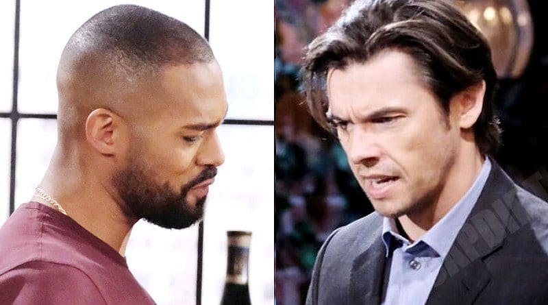 Days of our Lives Spoilers: Xander Cook (Paul Telfer) - Eli Grant (Lamon Archey)