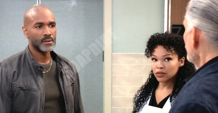 General Hospital Spoilers: Curtis Ashford (Donnell Turner) - Portia Robinson (Brook Kerr) - Cyrus Renault (Jeff Kobber)