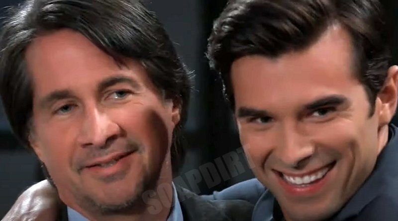 General Hospital Spoilers: Hamilton Finn (Michael Easton) - Harrison Chase (Josh Swickard)