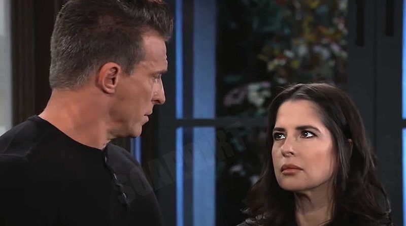 General Hospital: Jason Morgan (Steve Burton) - Sam McCall (Kelly Monaco)