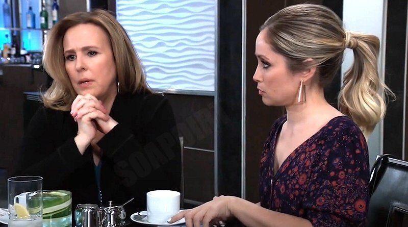 General Hospital Spoilers: Laura Spencer (Genie Francis) - Lulu Spencer (Emme Rylan)