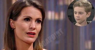 Young and the Restless: Chelsea Newman (Melissa Claire Egan) - Johnny Abbott (Holden Hare)