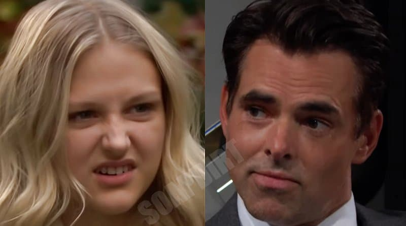 Young and the Restless Spoilers: Faith Newman (Alyvia Alyn Lind) - Billy Abbott (Jason Thompson)