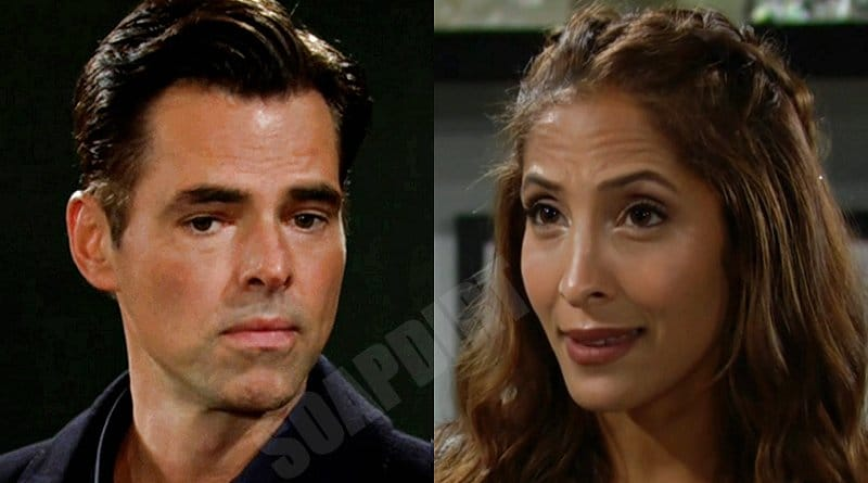 Young and the Restless Spoilers: Billy Abbott (Jason Thompson) - Lily Winters (Christel Khalil)