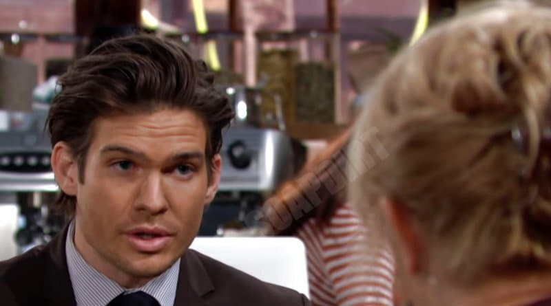 Young and the Restless Spoilers: Theo Vanderway (Tyler Johnson)