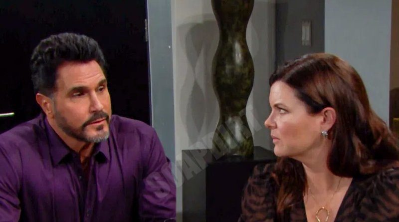 Bold and the Beautiful Comings Goings: Bill Spencer (Don Diamont) - Katie Logan (Heather Tom)