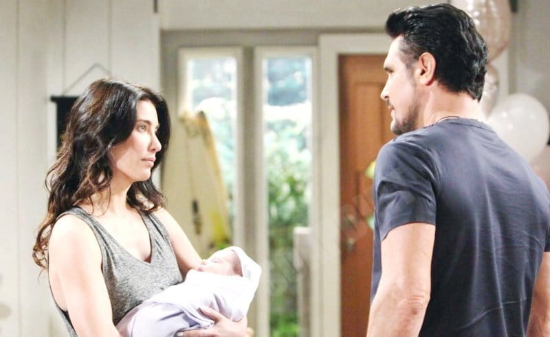 Bold and the Beautiful Comings & Goings: Bill Spencer (Don Diamont) - Steffy Forrester (Jacqueline MacInnes Wood)