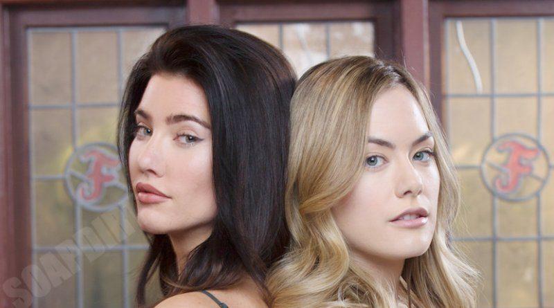 Bold and the Beautiful Spoilers: Steffy Forrester (JJacqueline MacInnes Wood) -Hope Logan (Annika Noelle)