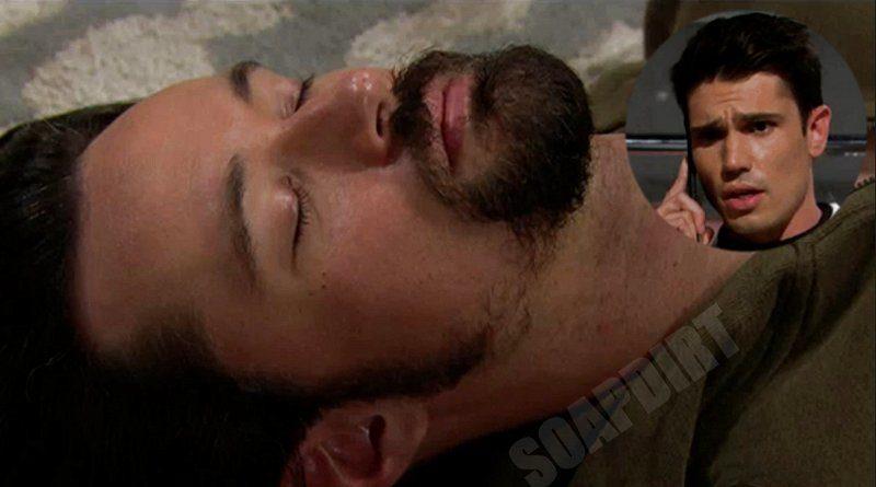 Bold and the Beautiful Spoilers: Thomas Forrester (Matthew Atkinson) - John Finnegan - Finn (Tanner Novlan)