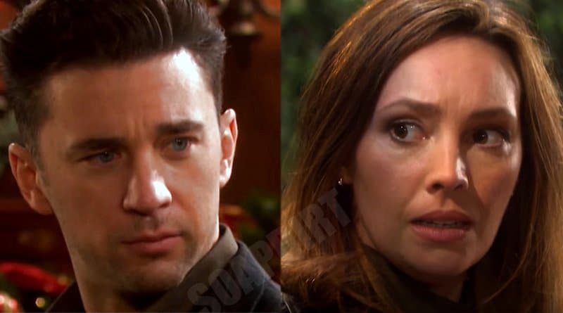 Days of Our Lives Spoilers: Chad DiMera (Billy Flynn) - Gwen (Emily OBrien)