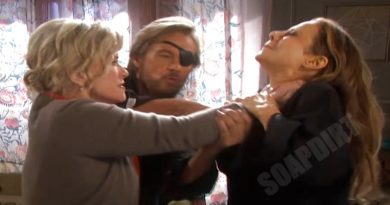 Days of our Lives Spoilers: Steve Johnson - Patch (Stephen Nichols) - Kayla Brady (Mary Beth Evans) - Ava Vitali (Tamara Braun)