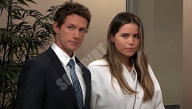 General Hospital Spoilers: Brando Corbin (Johnny Wactor) - Sasha Gilmore (Sofia Mattsson)