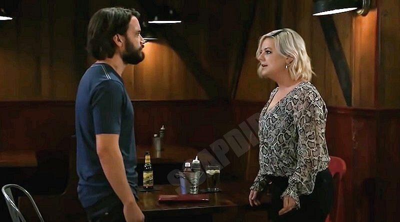 General Hospital Spoilers: Dante Falconeri (Dominic Zamprogna) - Maxie Jones (Kirsten Storms)