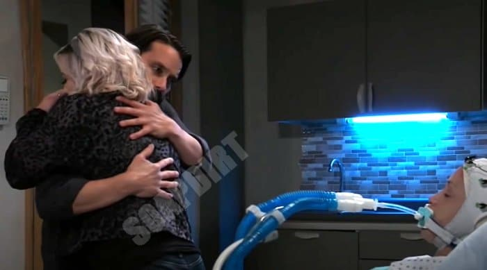 General Hospital Spoilers: Dante Falconeri (Dominic Zamprogna) - Maxie Jones (Kirsten Storms) - Lulu Spencer (Emme Rylan)