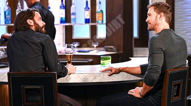 General Hospital Spoilers: Dante Falconeri (Dominic Zamprogna) - Peter August (Wes Ramsey)