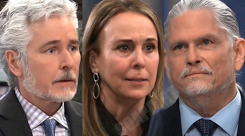 General Hospital Spoilers: Martin Gray (Michael E Knight) - Cyrus Renault (Jeff Kober) - Laura Spencer (Genie Francis)