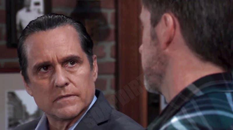 General Hospital: Julian Jerome (William deVry) - Sonny Corinthos (Maurice Benard)