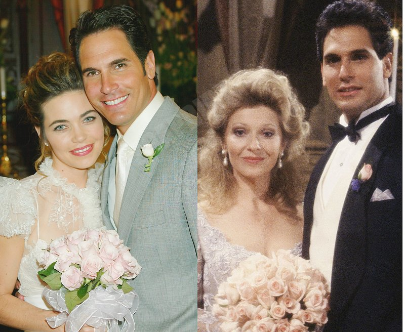 Young and the Restless: Brad Carlton (Don Diamont) - Victoria Newman (Amelia Heinle) - Traci Abbott (Beth Maitland)