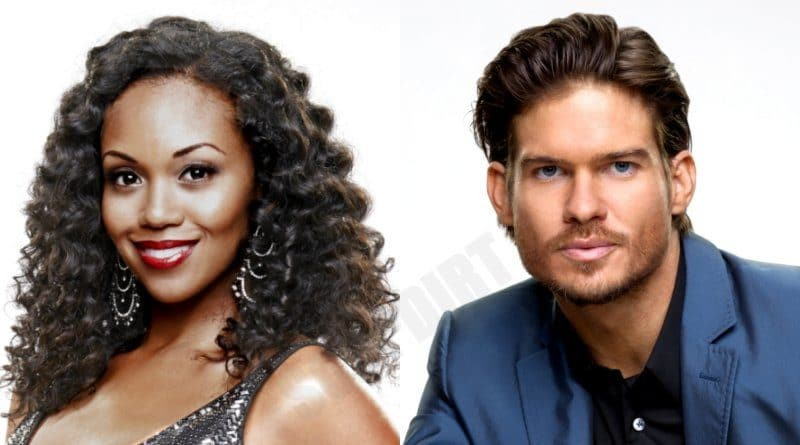 Young and the Restless Comings and Goings: Theo Vanderway (Tyler Johnson) - Amanda Sinclair (Mishael Morgan)