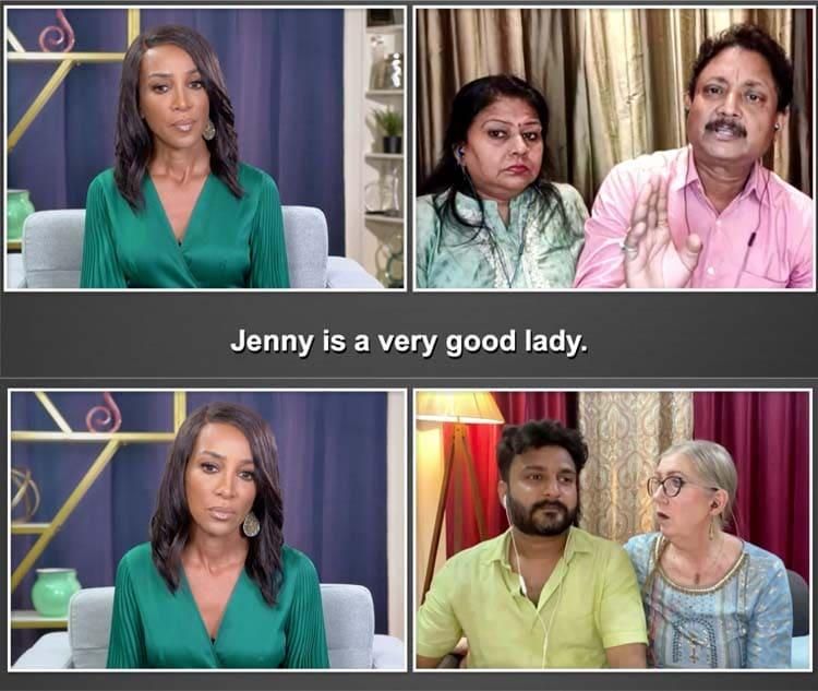 90 Day Fiance: Jenny Slatten - Sumit Singh - Anil Singh - Sahna Singh - Shaun Robinson - Bares All