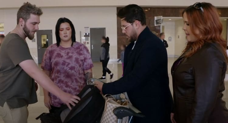 90 Day Fiance: Rebecca Parrott - Zied Hakimi - Tiffany Smith - Micah Smith