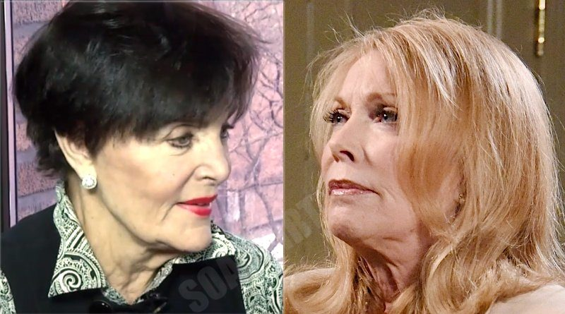 Days of our Lives Comings Goings: Vivian Alamain (Linda Dano) - Laura Horton (Jaime Lyn Bauer)