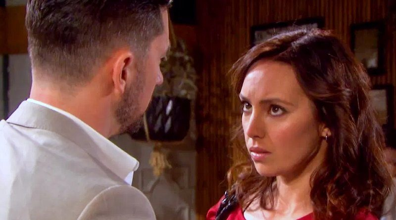 Days of our Lives Spoilers: Chad DiMera (Billy Flynn) - Gwen Rizczech (Emily OBrien)