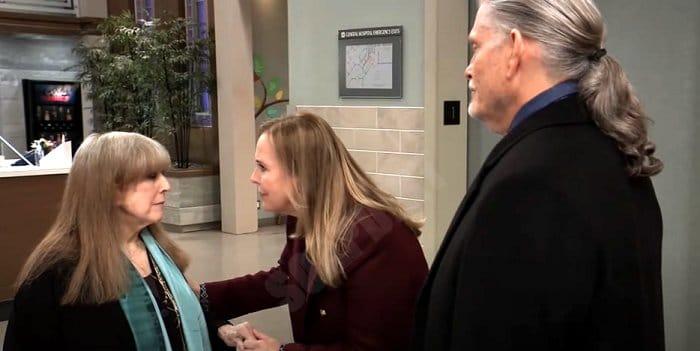 General Hospital Comings And Goings: Lesley Webber (Denise Alexander) - Laura Spencer (Genie Francis) - Cyrus Renault (Jeff Kober)