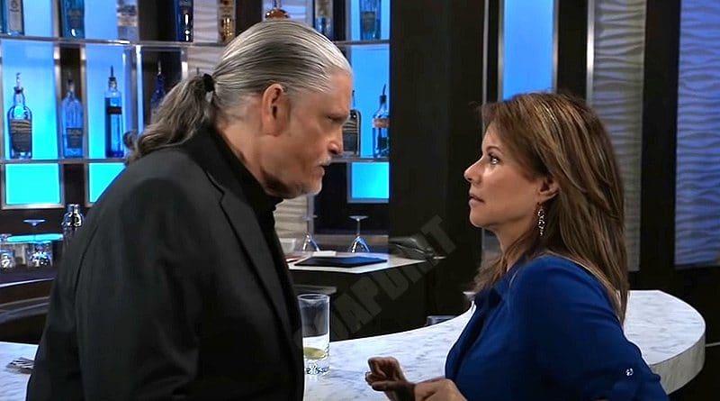 General Hospital Spoilers: Alexis Davis (Nancy Lee Grahn) - Cyrus Renault (Jeff Kober)