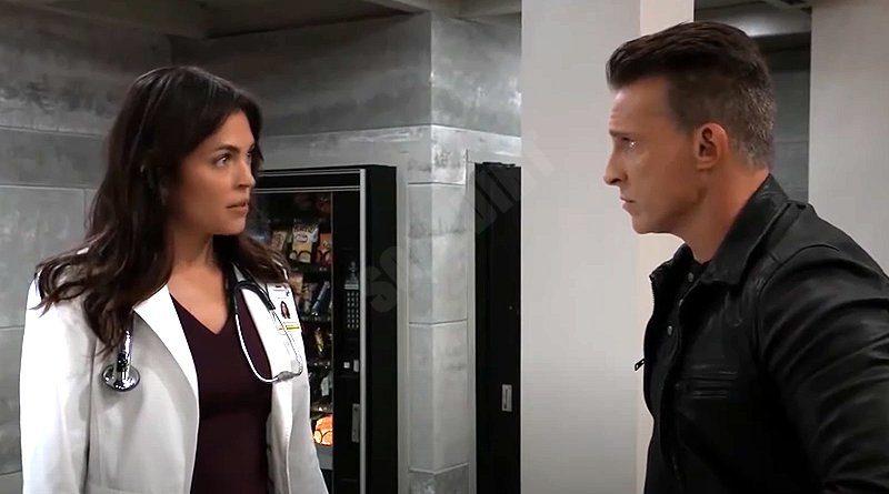 General Hospital Spoilers: Britt Westbourne (Kelly Thiebaud) - Jason Morgan (Steve Burton)