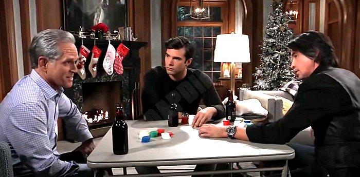General Hospital Spoilers: Hamilton Finn (Michael Easton) - Gregory Chase (Gregory Harrison) - Harrison Chase (Josh Swickard)