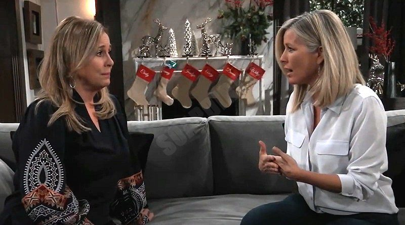 General Hospital Spoilers: Laura Spencer (Genie Francis) - Carly Corinthos (Laura Wright)