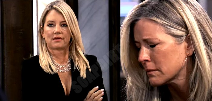 General Hospital Spoilers: Nina Reeves (Cynthia Watros) - Carly Corinthos (Laura Wright)