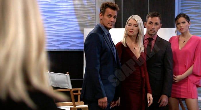 General Hospital Spoilers: Jasper Jacks Jax (Ingo Rademacher) - Nina Reeves (Cynthia Watros) - Valentin Cassadine (James Patrick Stuart) - Sasha Gilmore (Sofia Mattsson)