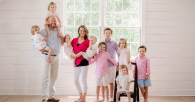 Sweet Home Sextuplets: Eric Waldrop - Courtney Waldrop