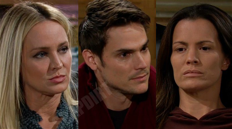 Young and the Restless Spoilers: Adam Newman (Mark Grossman) - Sharon Newman (Sharon Case) - Chelsea Newman (Melissa Claire Egan)