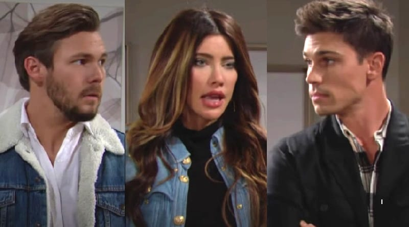 Bold and the Beautiful Spoilers: Liam Spencer (Scott Clifton) - Steffy Forrester ( Jacqueline MacInnes Wood) - Finn (Tanner Novlan)