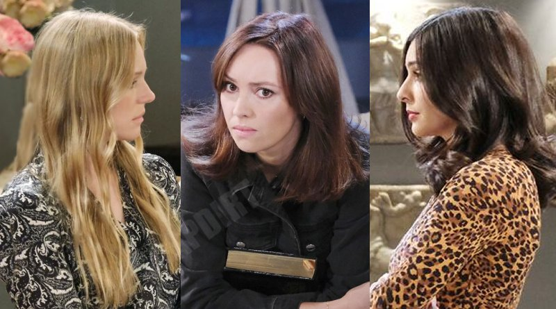 Days of our Lives Spoilers: Gwen-Rizczech (Emily OBrien) - Abigail Deveraux (Marci Miller) - Gabi Hernandez (Camila Banus)