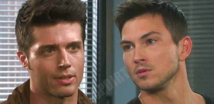 Days of Our Lives Spoilers: Evan Frears (Brock Kelly) - Ben Weston (Robert Scott Wilson)