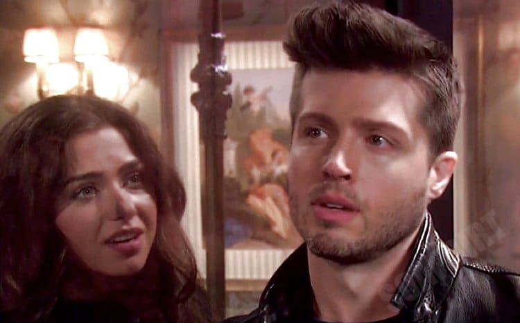 Days of Our Lives Spoilers: Evan Frears (Brock Kelly) - Ciara Brady (Victoria Konefal)