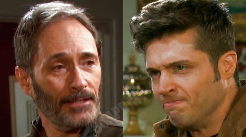 Days of our Lives Comings Goings: Orpheus (George DelHoyo) - Evan Frears - Christian Maddox (Brock Kelly)